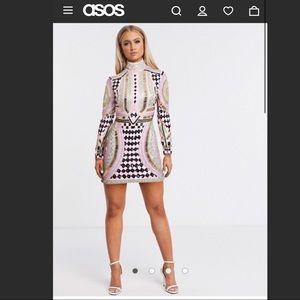 ASOS Frock and Frill Club Mini Dress